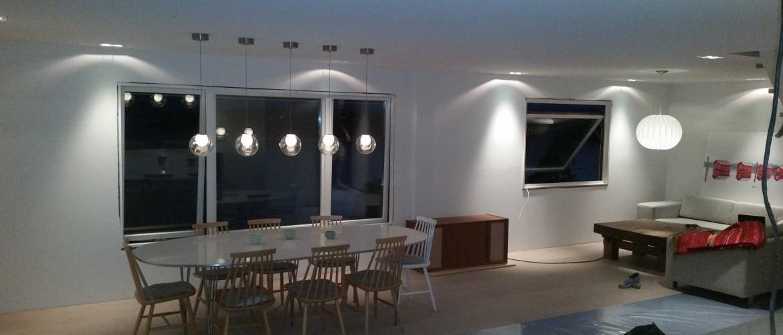Stue Børn: Åpen stueløsning Kjøkken. God plass i trang leilighet ...